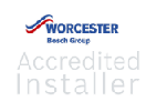 Worcester-Bosch accredited installer